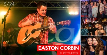 Easton Corbin live at El Rey Theater in downtown ABQ