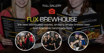 A night out at Flix Brewhouse