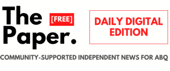 The Paper Daily Digital Edition Banner