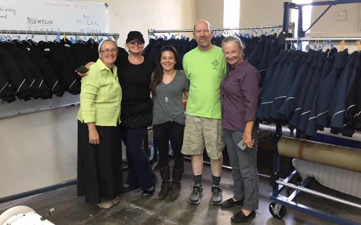 Success! Fall 2016 Apparel Manufacturing Boot Camp