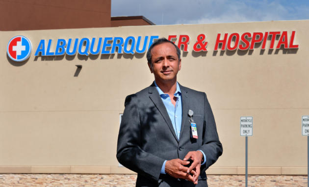 jt081120b/biz/jim Thompson/ Dr. Sanjay Kholwadwala is one of the winners of the Top CEO's contest. Tuesday, Aug. 11,  2020. (Jim Thompson/Albuquerque Journal)