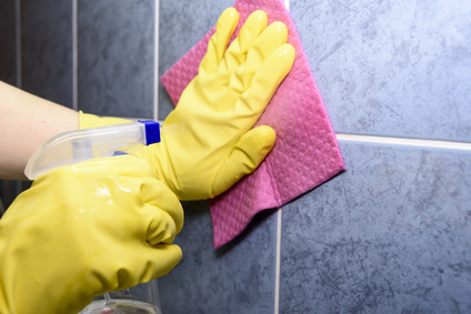 Good tile and grout cleaning habits will keep your tile looking great