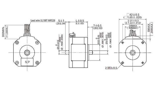 Electromechanical :: Motors :: Stepper Motors :: 2298