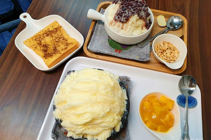 台中雪花冰推薦:芒果樹食在手作冰菓舖-位於北屯區停車方便