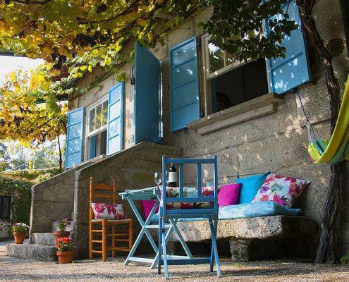 Abracadabra Decor Vigo Home Staging decora para alquiler vacacional - terraza