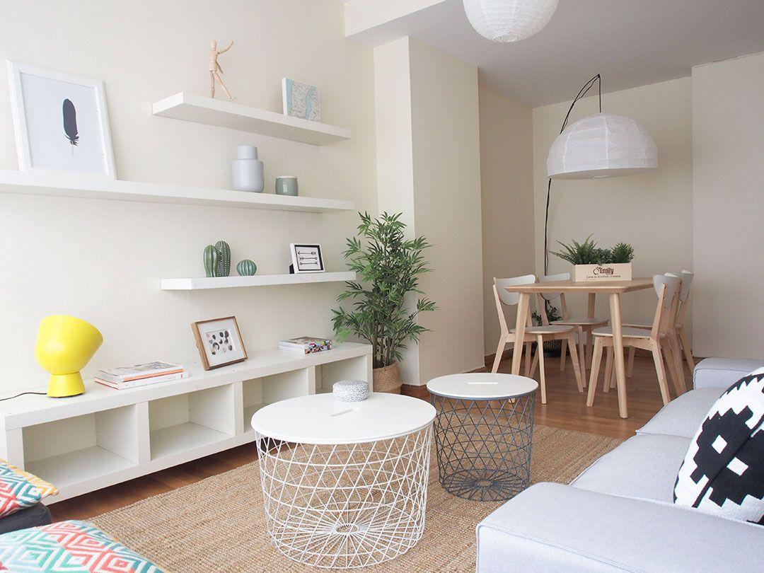 Abracadabra Decor Vigo Home Staging decora para alquilar o vender - salón comedor