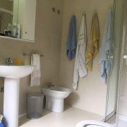 Casa de vacaciones en Playa América - baño antes