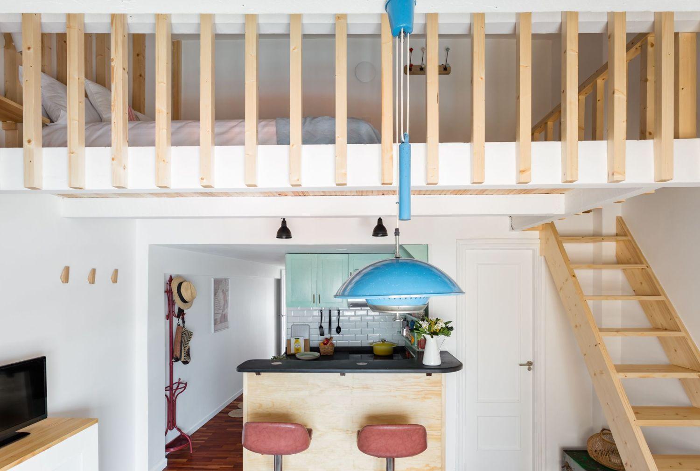 Vista general buhardilla para alquiler vacacional. Abracadabra Decor Home Staging