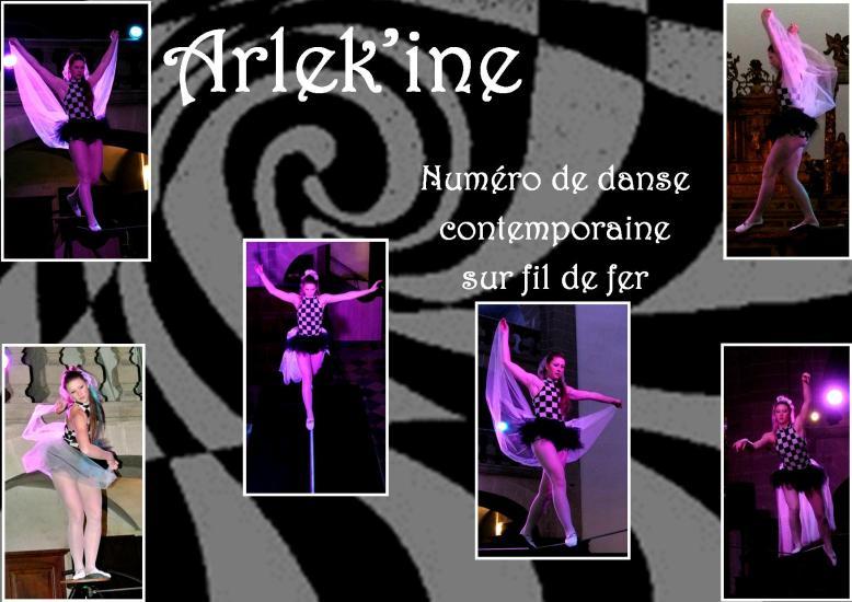 arlek'ine fil de fer equilibre echassiers spectacle parade animation cirque evenementiel