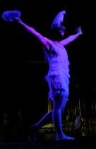 lorelei fil de fer danse charleston acrobatie equilibre tigh wire evenementile animation spectacle lyon macon joie fete froufrous