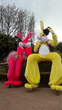 Lapinous' Foufous echassiers rebondissants loufoques parade animation evenementiel lapins fantaisie extravagance sautillants mascottes paques (32)