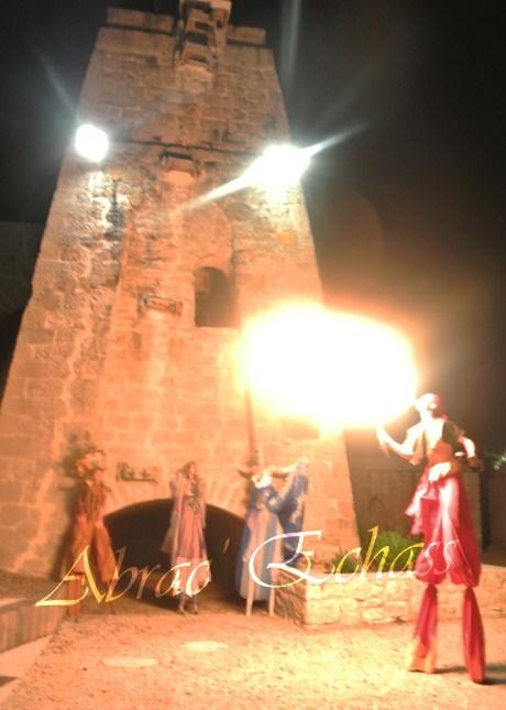 4 elements echassiers eau terre air feu sirene elfe maya cracheur de feu parade animation spectacle carnaval magique colores (35)