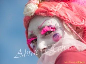 bulles de bonheur echassier parade colores festifs carnaval grandiose crinolines bulles de savon rose girly kawai (15)