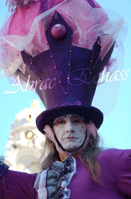 bulles de bonheur echassier parade colores festifs carnaval grandiose crinolines bulles de savon rose girly kawai (22)