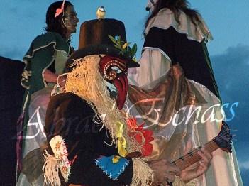 le songe de loeridis echassiers feeriques contes et merveilles spectacle fantastique parade animation elfes fees dragon loup echasses poes (15)
