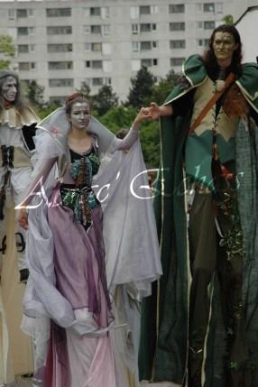 le songe de loeridis echassiers feeriques contes et merveilles spectacle fantastique parade animation elfes fees dragon loup echasses poes (23)