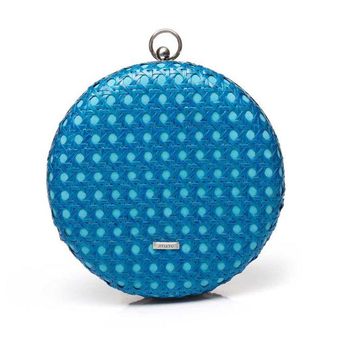 Abbacino circular turquoise party bag