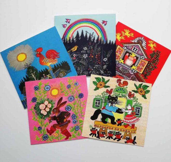 Kalpeki Art greeting cards group