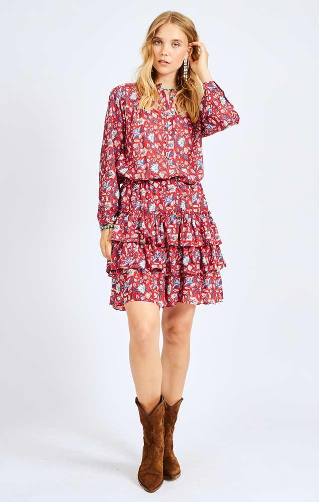 Moliin Christina shirt and Victoria skirt