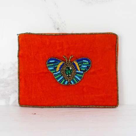 My Doris Bee bag red small