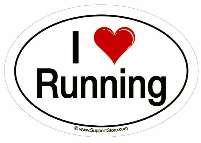 I Love to Run vs. I Love to NOT Run