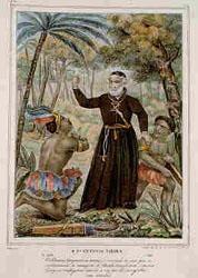 Padre António Vieira pregando aos indios