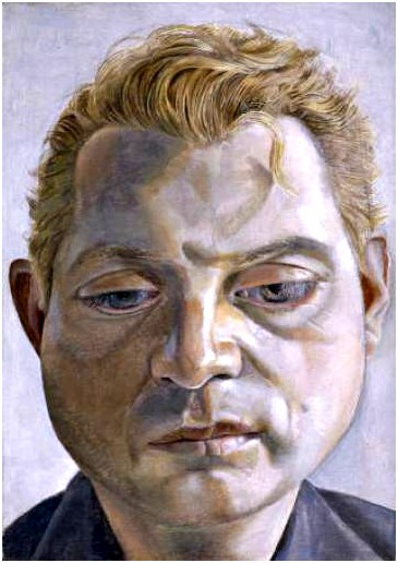 Lucien Freud - Bacon, 1952