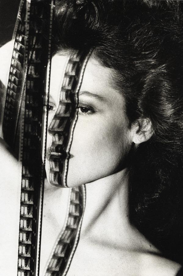 Sigourney Weaver fotografada por Helmut Newton
