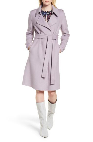Lavendar coat