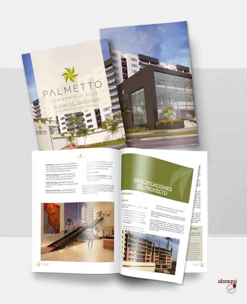 diseño grafico manual palmetto editorial catalogo