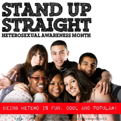 July heterosexual awareness month