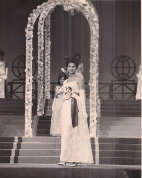 MISS UNIVERSE 1964 EVENING GOWN ROUND