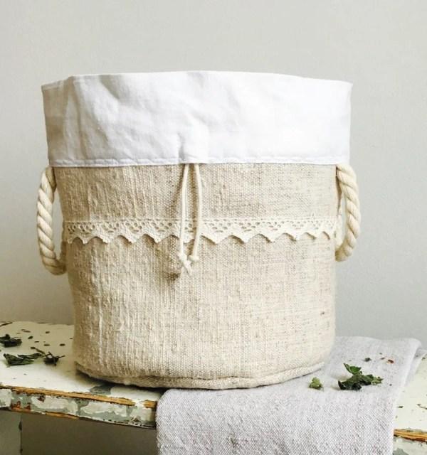 Lanove vrecko na kvaskovy chlieb