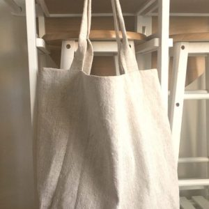 ľanová taška