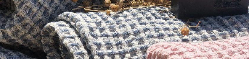 Ľanové osušky a uteráky od Abreadbag