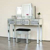 Diamond Crush Dressing/Console Table | Abreo Abreo Home ...
