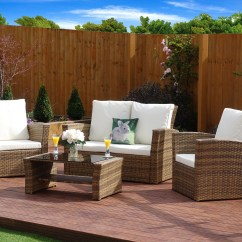Rattan Garden Chairs Only Uk Thomas Table And Best House Interior Today 4 Piece Algarve Sofa Lounge Set For Patios Furniture
