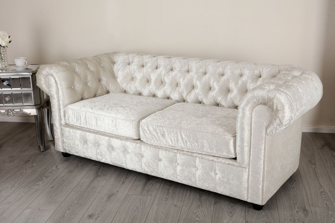 deep leather sofas uk sienna sofa empire arctic silver crushed velvet chesterfields abreo ...