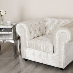 Velvet Chesterfield Sofa Prices Distressed Leather Sofas Canada Empire Arctic Silver Crushed Chesterfields Abreo