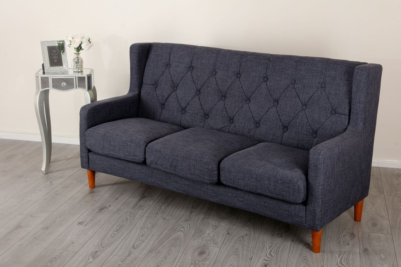 gray fabric sofa chair cozy sectional sofas oxford dark grey abreo home furniture