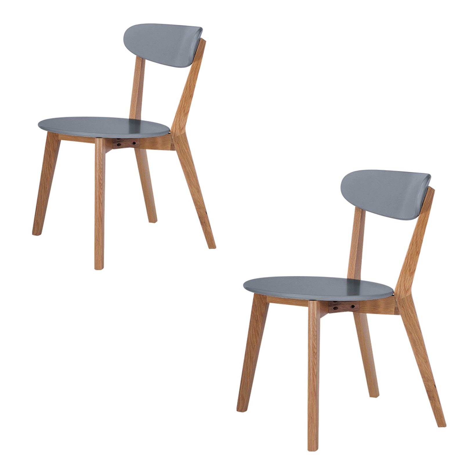 Scandinavian Style Dining Chairs Abreo Home Furniture