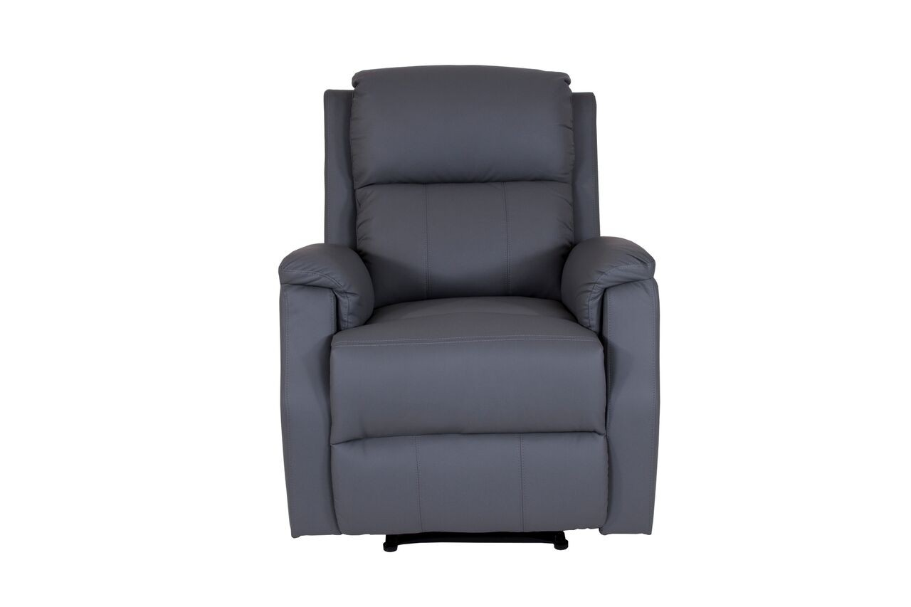 Gray Recliner Chair Hadleigh Light Grey Recliners Abreo Home Furniture