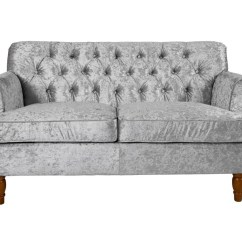 Crushed Velvet Sofa Fabric Leather And Sofas Mayfair Collection