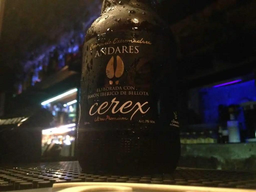 cerex cerveza de jamon