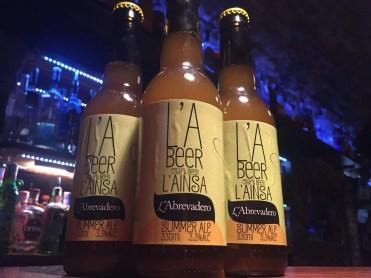 L'A Beer Summer Ale L'Abrevadero