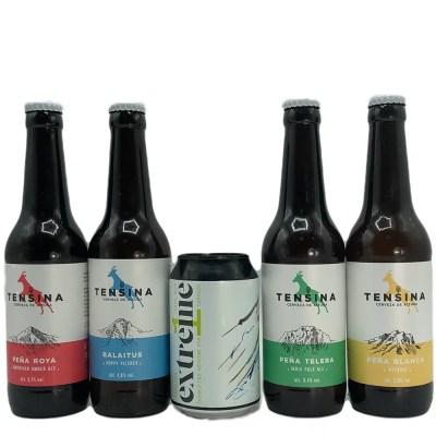 Cerveza Tensina SURTIDAS