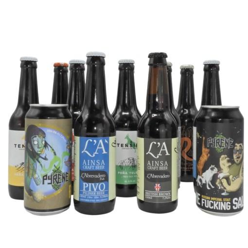 Oferta Pack de Cervezas Artesanas del Pirineo Rondadora Tensina L'A dos bous