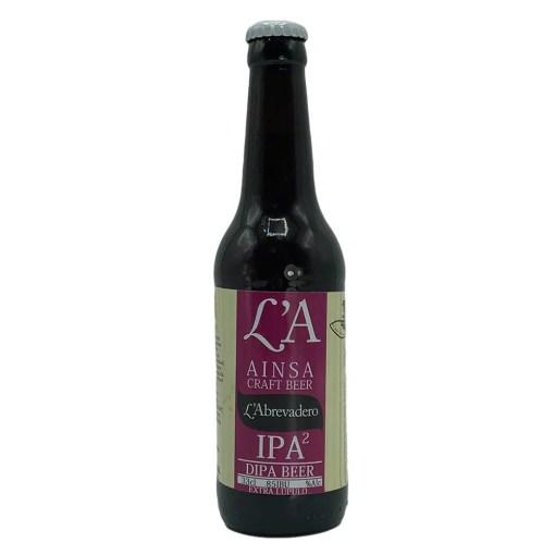 Cerveza LA Beer Ainsa DIPA