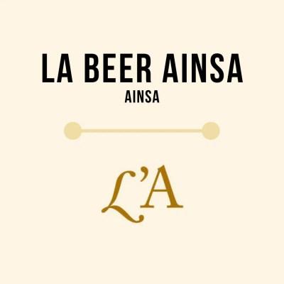 Cerveza L'A BEER Ainsa Beer