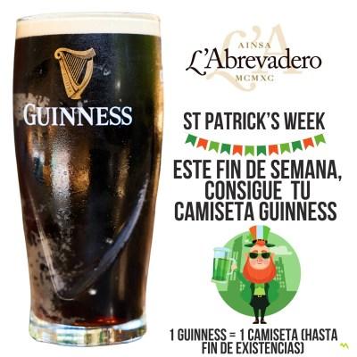 St Patrick's week